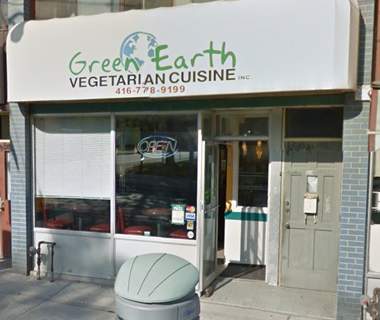 Green Earth Vegan Cuisine Toronto